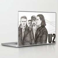 u2 Laptop & iPad Skins featuring Joshua Tree by Paul Nelson-Esch Art