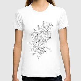 Geometric on the N T-shirt