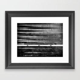 Trispout Framed Art Print