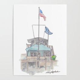 Essex Island Marina Poster
