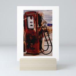Old Gas Pump Mini Art Print