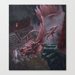 Wudang Canvas Print