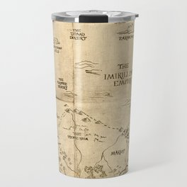 Map of Imirillia Travel Mug