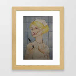 """""""Hold Still"""" Framed Art Print"""