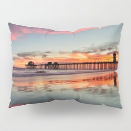 Huntington Beach Sunsets  8/5/15  Pillow Sham