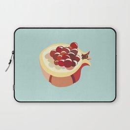 pomegranate fruit illustration Laptop Sleeve