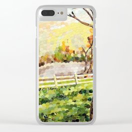 Pasture Clear iPhone Case