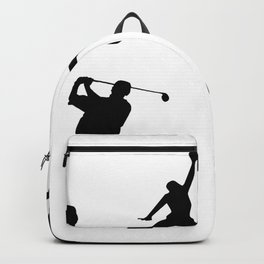 Sports silhouettes Backpack