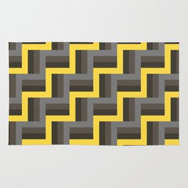 Plus Five Volts - Geometric Repeat Pattern Rug