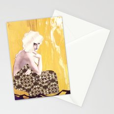 Victorian Yellow Stationery Cards
