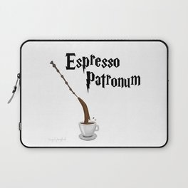 Espresso Patronum design Laptop Sleeve