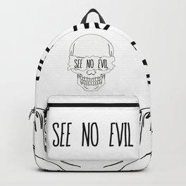 See No Evil Backpack