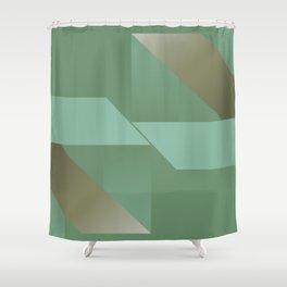A Hymn To Friendship - Mid Century Modern Shower Curtain
