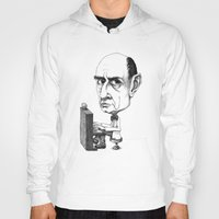 arnold Hoodies featuring Arnold Schoenberg by Gareth Southwell