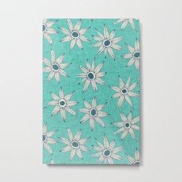 sema mint blue Metal Print