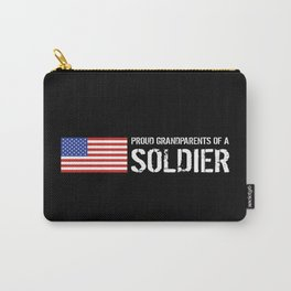 Proud Grandparents of a Soldier Carry-All Pouch