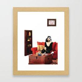 Habits / Cigarettes Framed Art Print