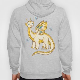 Golden Tipped Dragon Fly Hoody