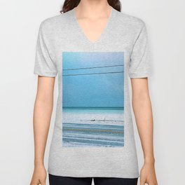 The Cold After the Storm Unisex V-Neck