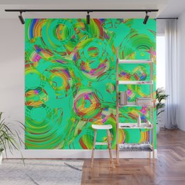 Abstract HJ Y Wall Mural