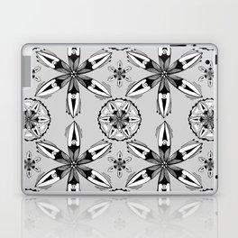 Black and White Sea Pods Laptop & iPad Skin