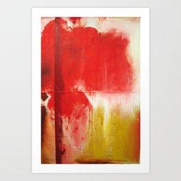 Red Landscape V Art Print