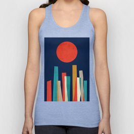 World's Edge Unisex Tank Top