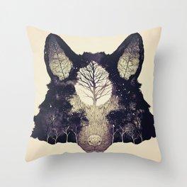 Forest Whisper (alt.) Throw Pillow