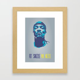 Snoop Dogg Poster Art Framed Art Print