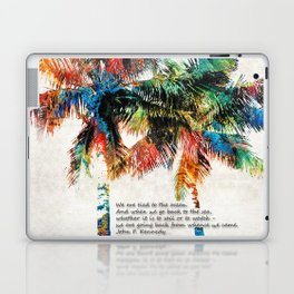 Colorful Palm Trees - Returning Home - By Sharon Cummings Laptop & iPad Skin