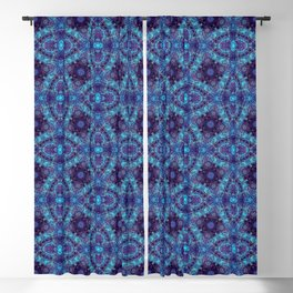 Tranquility Tessellation Blackout Curtain