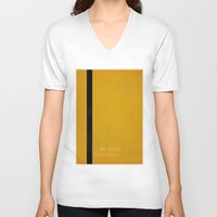 kill bill V-neck T-shirts featuring Kill Bill by Ewan Arnolda