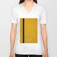 bill V-neck T-shirts featuring Kill Bill by Ewan Arnolda
