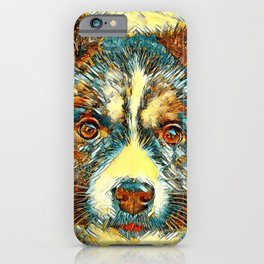 AnimalArt_Dog_20170902_by_JAMColorsSpecial iPhone Case