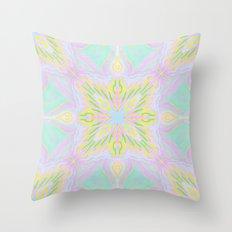 Marokkoko Yellow Mint Throw Pillow