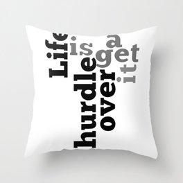 Hurdle Throw Pillow