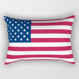 Flag of USA - American flag, flag of america, america, the stars and stripes,us, united states Rectangular Pillow