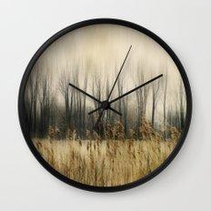 Marsh Edge Wall Clock