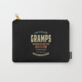 Mens I'm Called Gramps Cool Grandpa Gift Carry-All Pouch