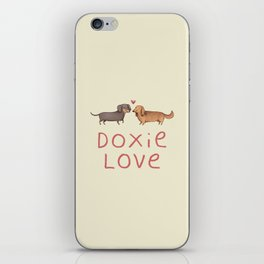 Doxie Love iPhone Skin