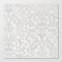 victorian Canvas Prints featuring Victorian by Pink Berry Patterns