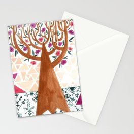 Mysterious tree Stationery Cards
