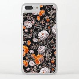 EXOTIC GARDEN - NIGHT XVII Clear iPhone Case