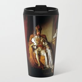 Nick Offerman Is KING!  |  Ron Swanson  |  Parks and Recreation Travel Mug