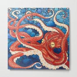 Big Squid Metal Print