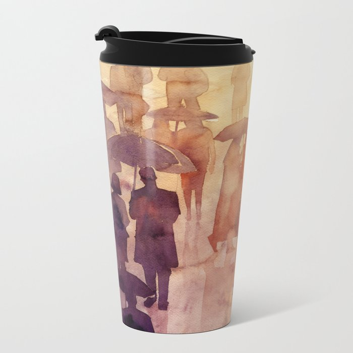 Summer day Metal Travel Mug