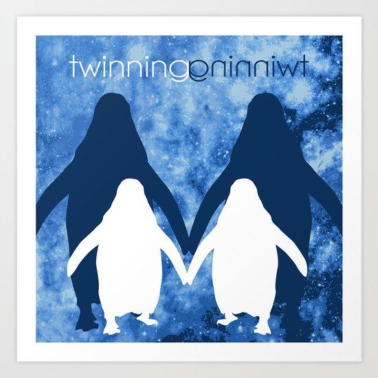 twinning Art Print