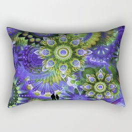 Lost in the 60's Rectangular Pillow