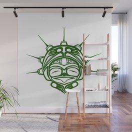 Grass Frog Spirit Wall Mural