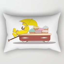 Spring Showers Rectangular Pillow